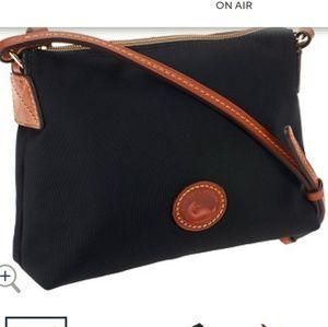 Dooney and Bourke Nylon Crossbody Pouchette Bag